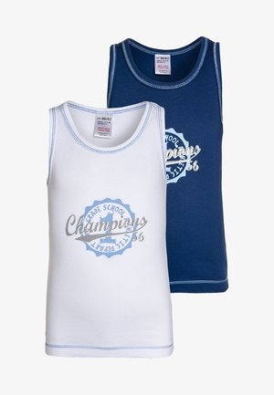 2 PACK  - Undershirt - blue
