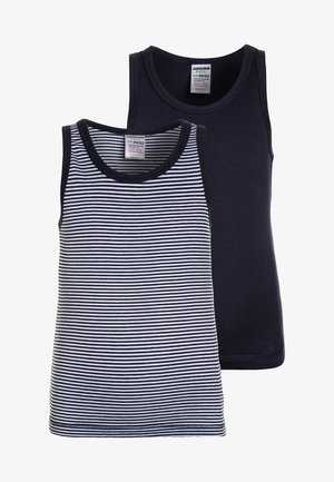 BOYS 2 PACK - Undershirt - dark blue