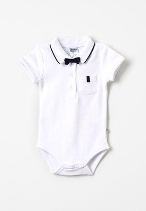 KURZARM MIT ABNEHMBARER FLIEGE CLASSIC BOY BABY - Koszulka polo - weiß