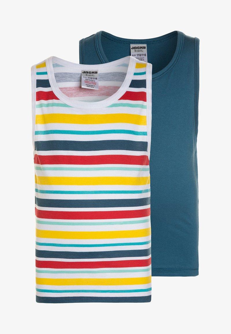 Jacky Baby - VEST STRIPES BOYS 2 PACK - Unterhemd/-shirt - multicolor