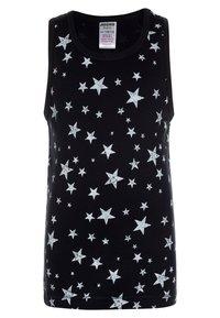Jacky Baby - VEST SPACE & STARS BOYS 2 PACK  - Tílko - dark blue - 2