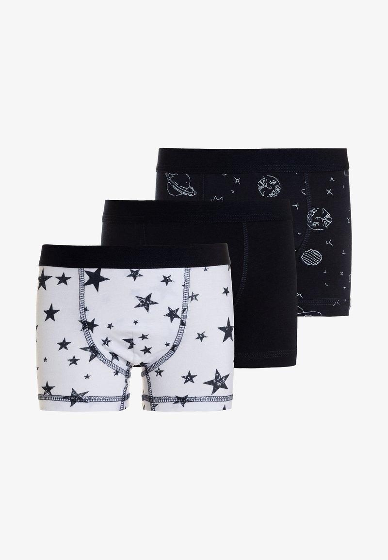 Jacky Baby - BOXER SPACE & STARS BOYS 3 PACK  - Panties - dark blue