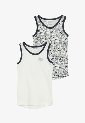 VEST FOX 2 PACK - Undershirt - white