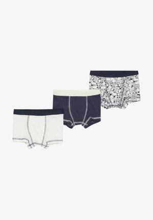 BOXER FOX 3 PACK - Panties - dark blue