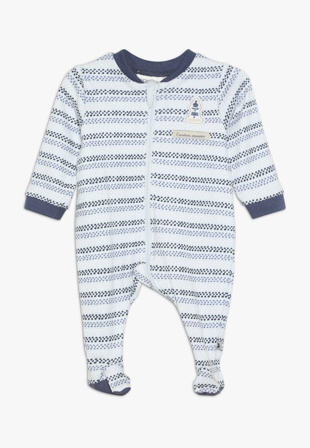 SCHLAFANZUG COUCOU MON PETIT - Pyjamas - blue