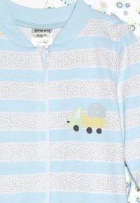 Jacky Baby - SCHLAFANZUG BOYS 2 PACK - Pyjama - white - 4