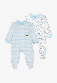 Jacky Baby - SCHLAFANZUG BOYS 2 PACK - Pyjama - white - 3