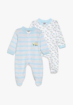 SCHLAFANZUG BOYS 2 PACK - Pyjamas - white