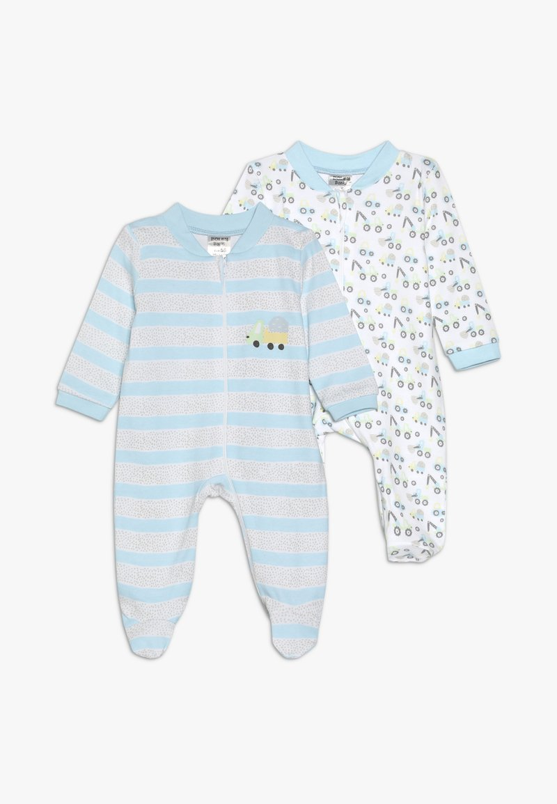 Jacky Baby - SCHLAFANZUG BOYS 2 PACK - Pyjama - white