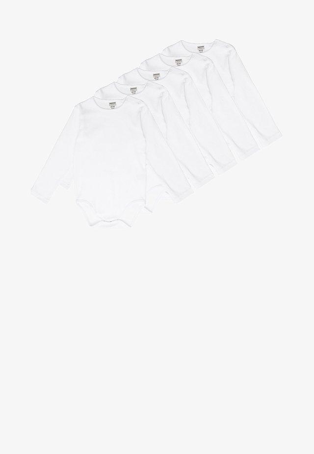 5 PACK  - Body - weiß