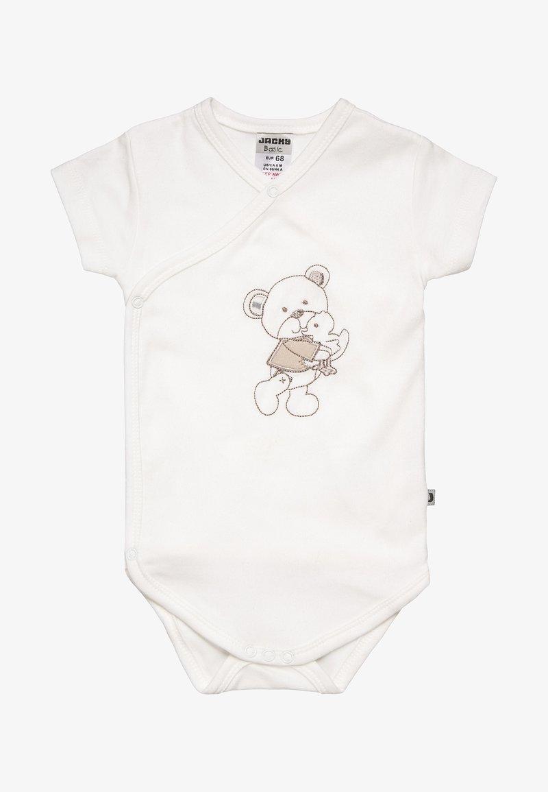 Jacky Baby - KURZARM BEAR - Body - offwhite