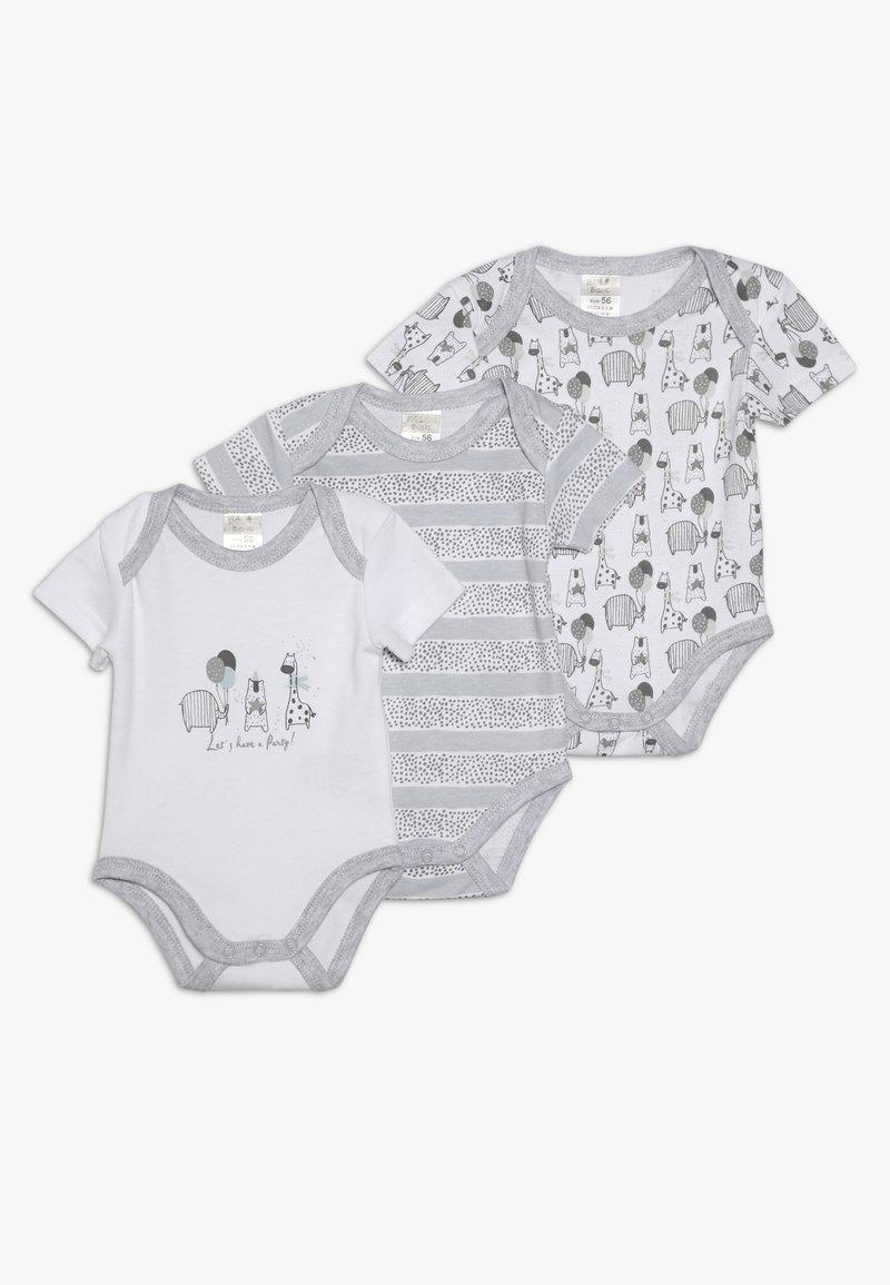 Jacky Baby - KURZARM UNISEX 3 PACK  - Body - grey