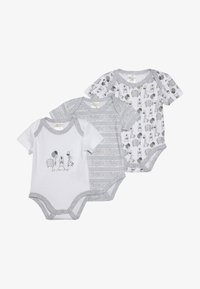 Jacky Baby - KURZARM UNISEX 3 PACK  - Body - grey - 4