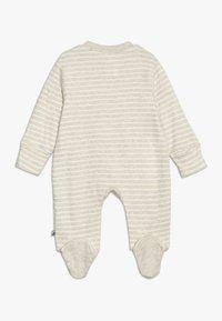 Jacky Baby - SCHLAFANZUG MIT UMSCHLAGHANDSCHUH - Pijama - beige melange - 1
