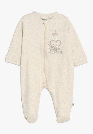 SCHLAFANZUG - Pyjamas - beige melange