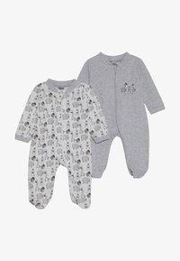 Jacky Baby - SCHLAFANZUG UNISEX 2 PACK - Pyžamo - grey - 3