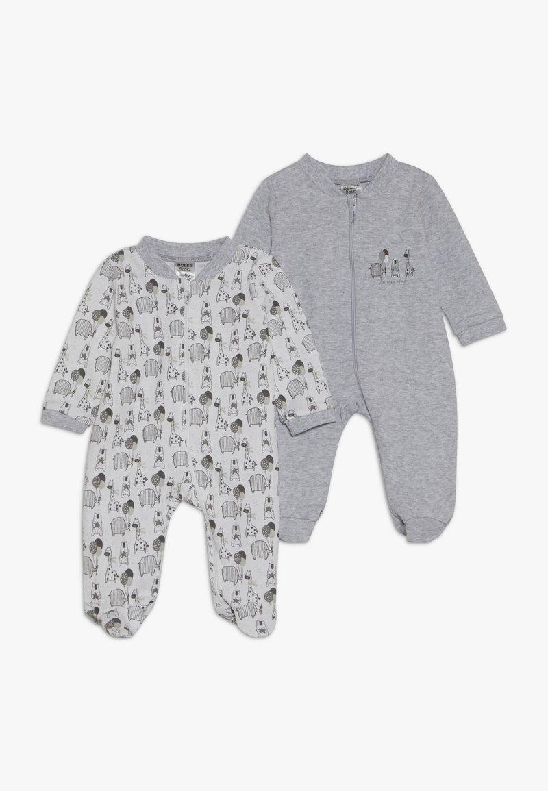 Jacky Baby - SCHLAFANZUG UNISEX 2 PACK - Pyžamo - grey