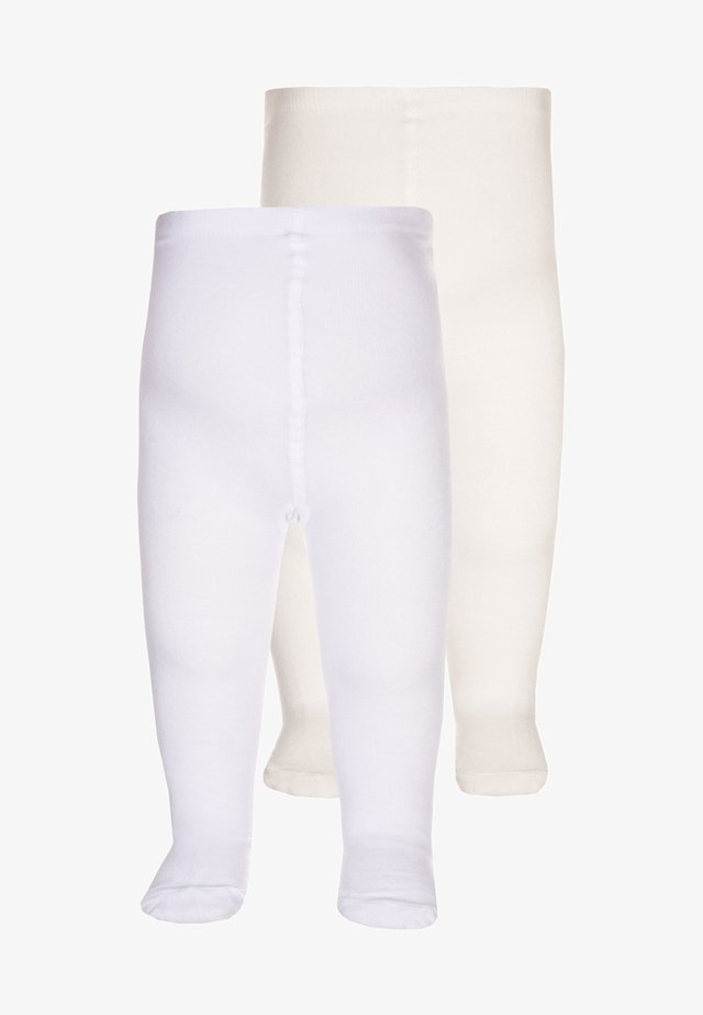 2 PACK - Tights - weiß/offwhite