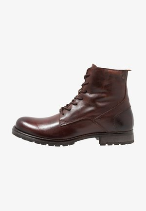 JFWORCA  - Lace-up ankle boots - brown stone