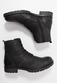 Jack & Jones - JFWORCA  - Šněrovací kotníkové boty - anthracite - 1