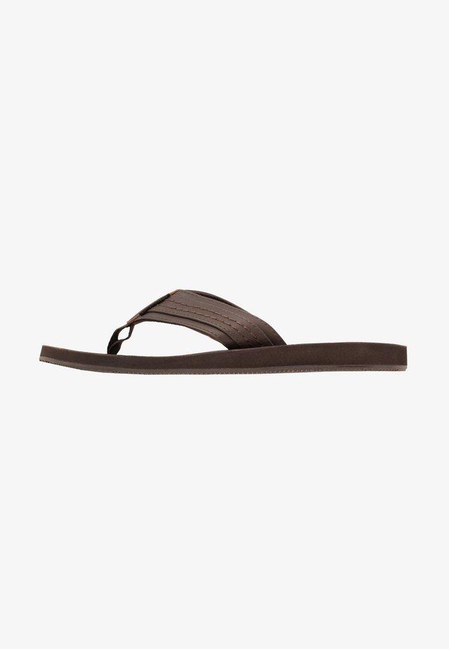 JFWBOB JAVA - Sandály s odděleným palcem - brown
