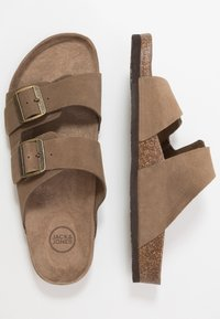 Jack & Jones - JFWCROXTON  - Slippers - tobacco brown - 1