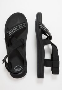 Jack & Jones - JFWRAFT  - Sandals - anthracite