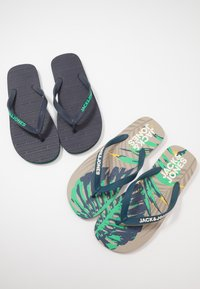 Jack & Jones - JFWFLIPFLOP 2 PACK - Boty do bazénu - multicolor - 5