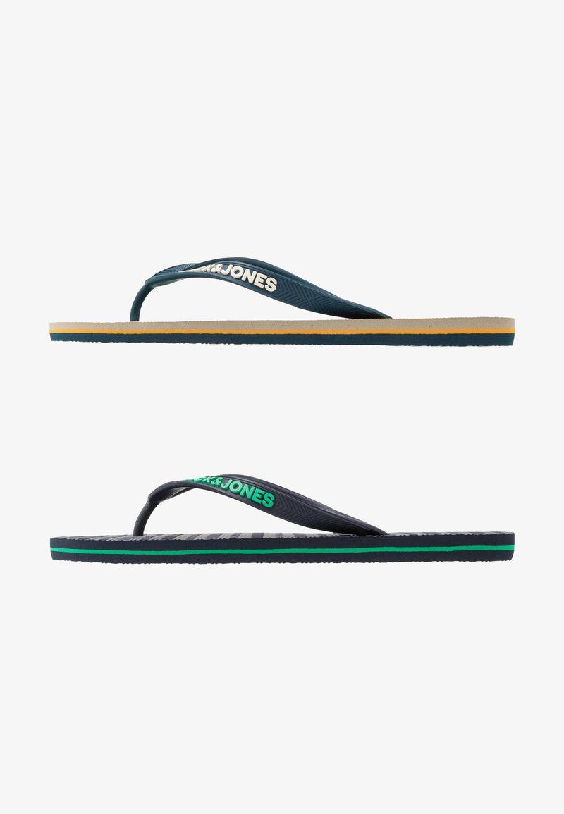 Jack & Jones - JFWFLIPFLOP 2 PACK - Boty do bazénu - multicolor