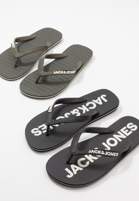 Jack & Jones - JFWFLIPFLOP 2 PACK - Boty do bazénu - multicolor - 5