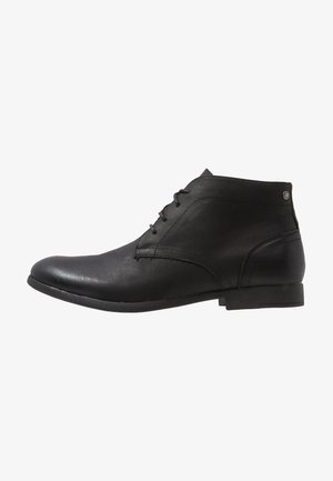 JFWDESMOND LACE  - Lace-up ankle boots - anthracite