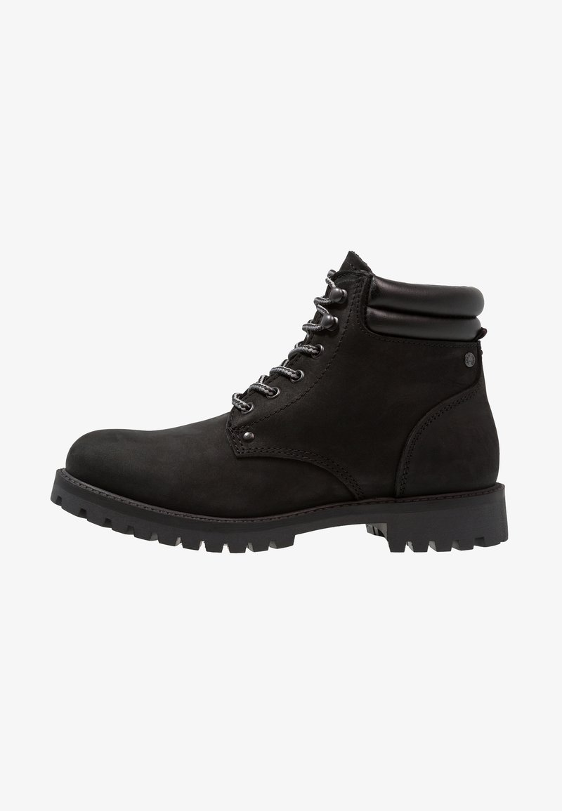 Jack & Jones - JFWSTOKE BOOT MONO - Snörstövletter - black