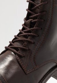 Jack & Jones - JFWRUSSEL - Bottines à lacets - brown stone - 5