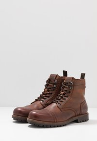 Jack & Jones - JFWEAGLE - Bottines à lacets - brown stone - 2