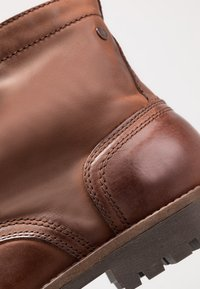 Jack & Jones - JFWEAGLE - Bottines à lacets - brown stone - 5