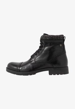 JFWMARLY - Snørestøvletter - black