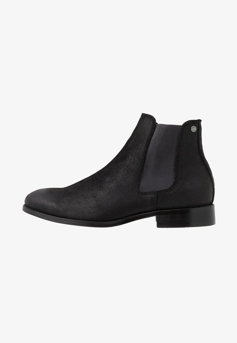Jack & Jones - JFWPETER  - Classic ankle boots - anthracite