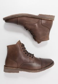 Jack & Jones - JFWLEE BOOT  - Botki sznurowane - cocao brown - 1