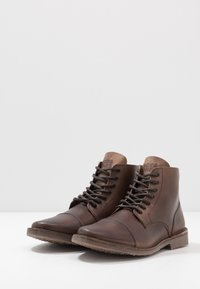 Jack & Jones - JFWLEE BOOT  - Botki sznurowane - cocao brown - 2
