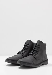 Jack & Jones - JFWLEE BOOT  - Stivaletti stringati - black - 2