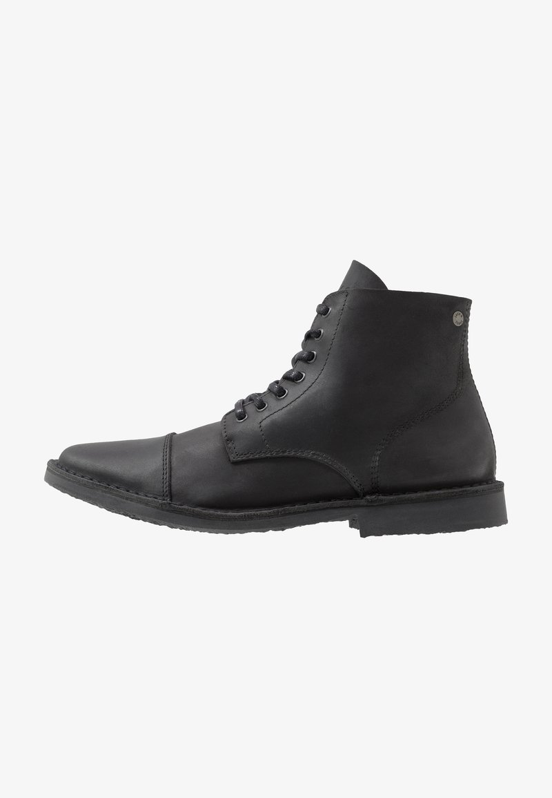 Jack & Jones - JFWLEE BOOT  - Stivaletti stringati - black