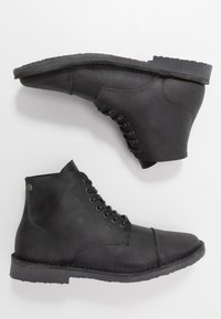 Jack & Jones - JFWLEE BOOT  - Stivaletti stringati - black - 1