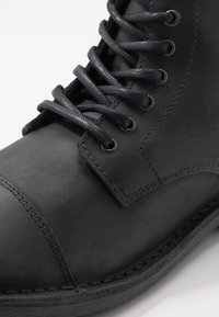 Jack & Jones - JFWLEE BOOT  - Stivaletti stringati - black - 5