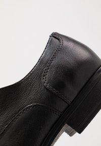 Jack & Jones - JFWDONALD - Elegantní šněrovací boty - anthracite - 5
