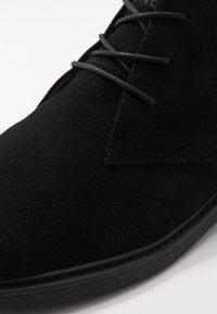 Jack & Jones - JFWGEORGE - Volnočasové šněrovací boty - anthracite - 5