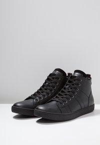 Jack & Jones - JFWSTEWART - Sneakersy wysokie - anthracite - 2