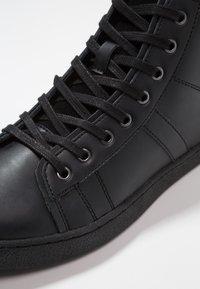 Jack & Jones - JFWSTEWART - Sneakersy wysokie - anthracite - 5