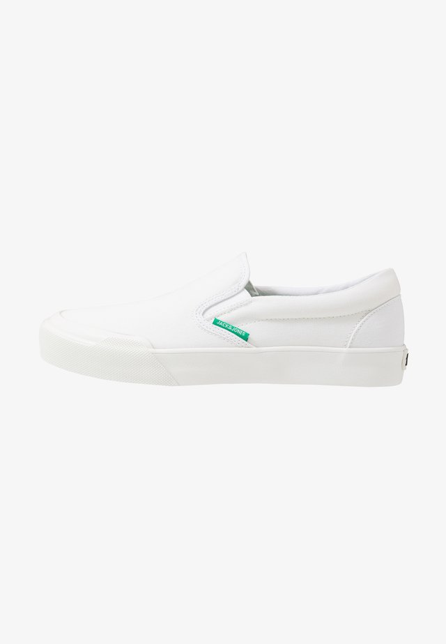 JFWORSON - Loaferit/pistokkaat - bright white