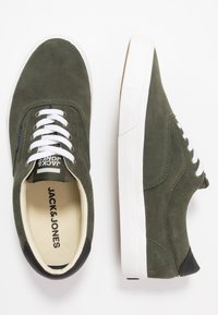 Jack & Jones - JFWMORK - Sneakersy niskie - olive night - 1