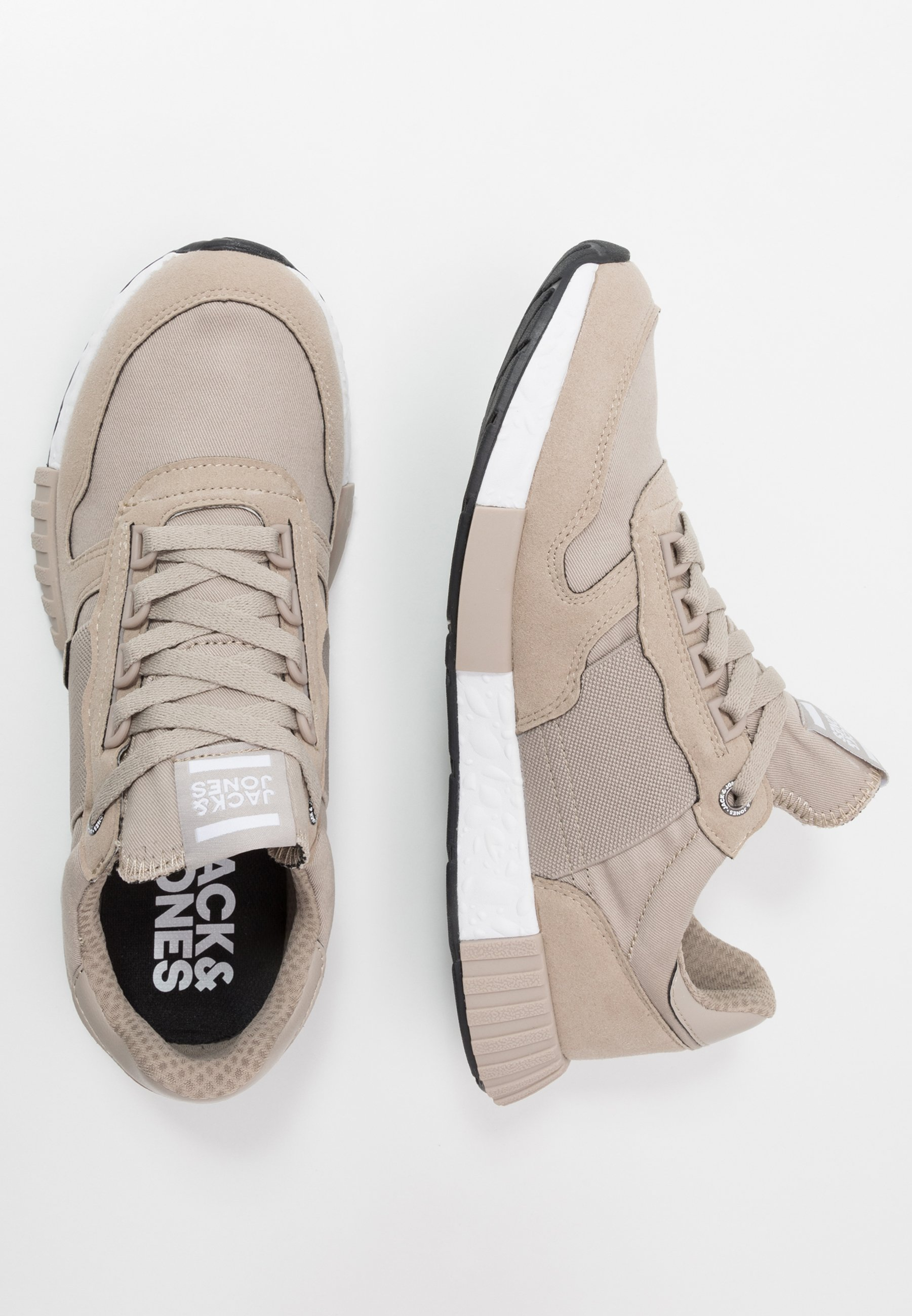 Jack & Jones JFWMAXIM ELASTIC STRING - Sneakers - beige